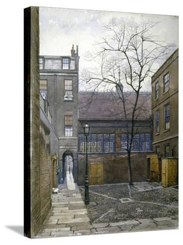Barnard's Inn, London, 1886-John Crowther-Stretched Canvas Print