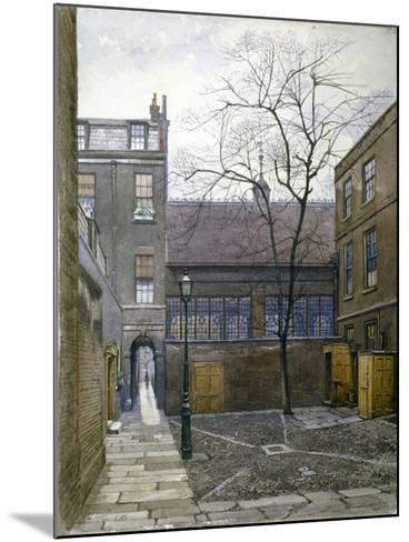 Barnard's Inn, London, 1886-John Crowther-Mounted Giclee Print