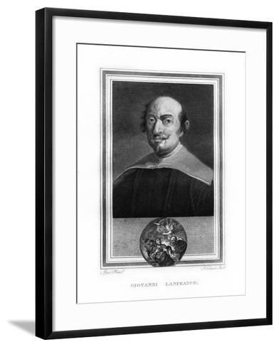 Giovanni Lanfranco, Italian Baroque Era Painter-John Corner-Framed Art Print