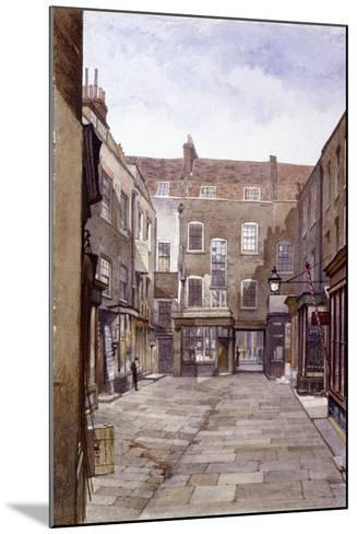 Leather Sellers' Buildings, London Wall, London, 1883-John Crowther-Mounted Giclee Print