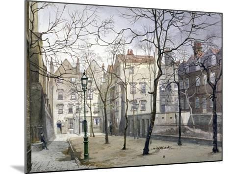Barnard's Inn, London, 1888-John Crowther-Mounted Giclee Print