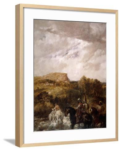The Ford, 1891-John Gilbert-Framed Art Print