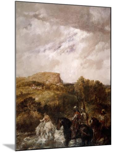 The Ford, 1891-John Gilbert-Mounted Giclee Print