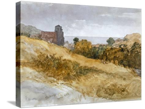 The Sea Near Hastings, 1853-John Gilbert-Stretched Canvas Print