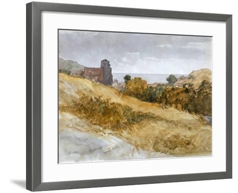 The Sea Near Hastings, 1853-John Gilbert-Framed Art Print