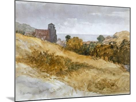 The Sea Near Hastings, 1853-John Gilbert-Mounted Giclee Print