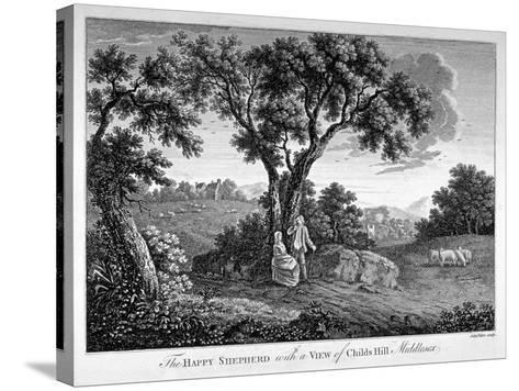 Childs Hill, Hampstead Heath, London, 1786-John Peltro-Stretched Canvas Print