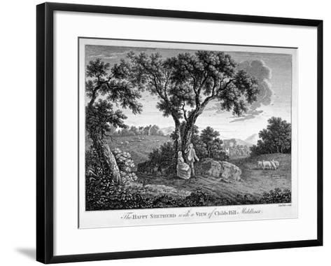 Childs Hill, Hampstead Heath, London, 1786-John Peltro-Framed Art Print