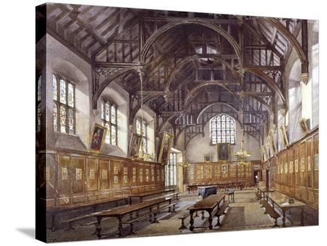 Gray's Inn Hall, London, 1886-John Crowther-Stretched Canvas Print