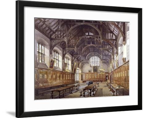 Gray's Inn Hall, London, 1886-John Crowther-Framed Art Print