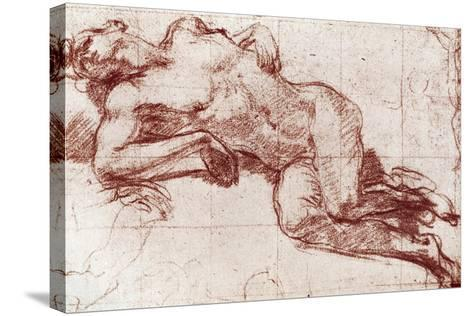 A Study of a Nude, 1913-John Everett Millais-Stretched Canvas Print
