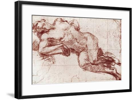 A Study of a Nude, 1913-John Everett Millais-Framed Art Print