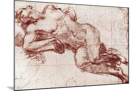 A Study of a Nude, 1913-John Everett Millais-Mounted Giclee Print