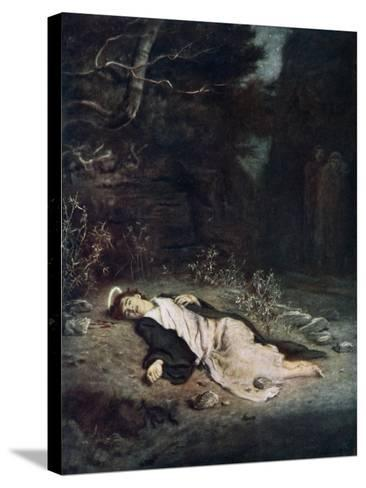 Saint Stephen, 1895-John Everett Millais-Stretched Canvas Print