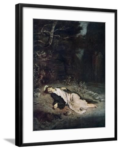 Saint Stephen, 1895-John Everett Millais-Framed Art Print