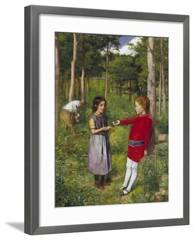 The Woodman's Daughter, 1851-John Everett Millais-Framed Art Print