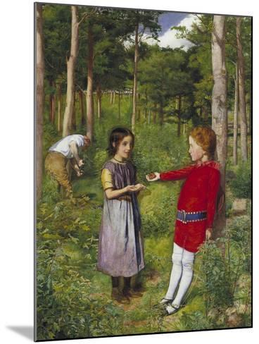 The Woodman's Daughter, 1851-John Everett Millais-Mounted Giclee Print