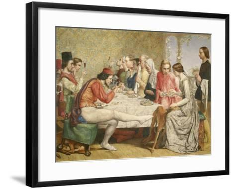 Isabella, 1849-John Everett Millais-Framed Art Print