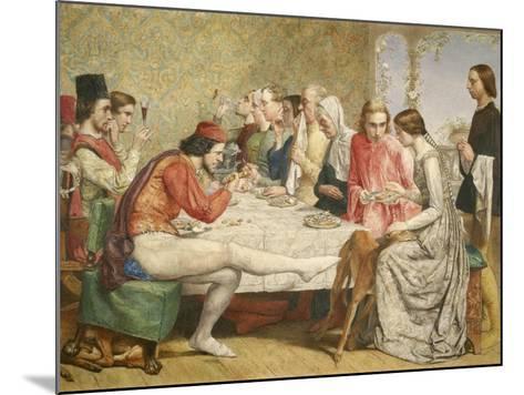 Isabella, 1849-John Everett Millais-Mounted Giclee Print
