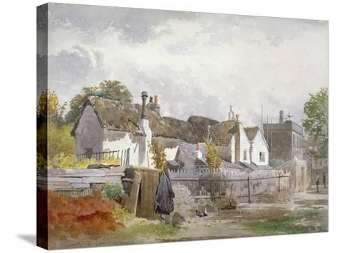 Sindercombe's Cottage, Shepherd's Bush, Hammersmith, London, 1890-John Crowther-Stretched Canvas Print