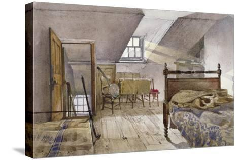 Interior View of Marshalsea Prison, Borough High Street, Southwark, London, 1887-John Crowther-Stretched Canvas Print