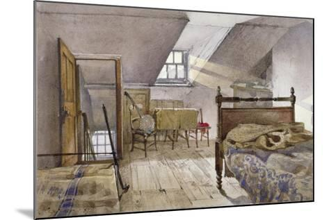 Interior View of Marshalsea Prison, Borough High Street, Southwark, London, 1887-John Crowther-Mounted Giclee Print