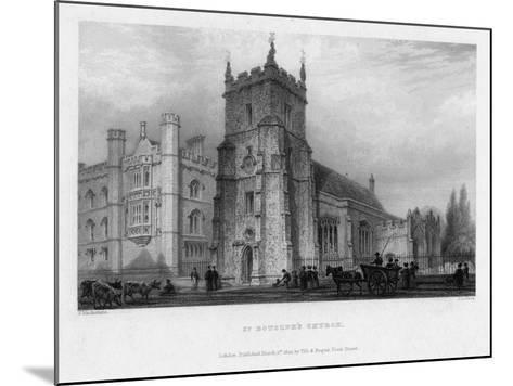 St Botolph's Church, Boston, Lincolnshire, 1842-John Le Keux-Mounted Giclee Print