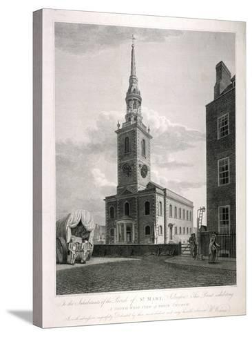 St Mary, Islington, London, 1793-John Roffe-Stretched Canvas Print