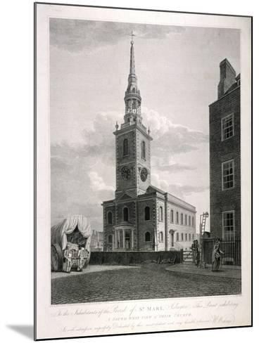 St Mary, Islington, London, 1793-John Roffe-Mounted Giclee Print
