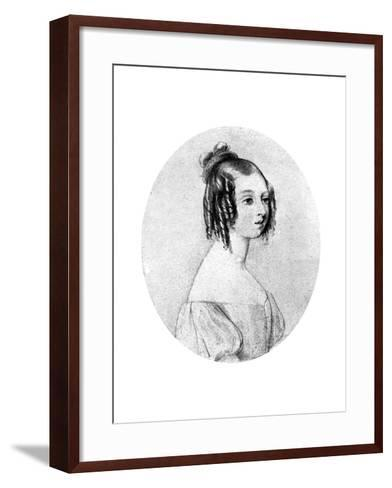 Princess Victoria at the Age of Fifteen, C1834-John Rogers Herbert-Framed Art Print