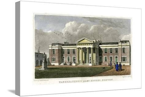 Haberdasher's Alms Houses, Hoxton, Hackney, London, 1828-John Rolph-Stretched Canvas Print