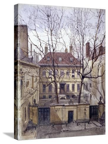 Dean's Court, Carter Lane, 1881-John Crowther-Stretched Canvas Print