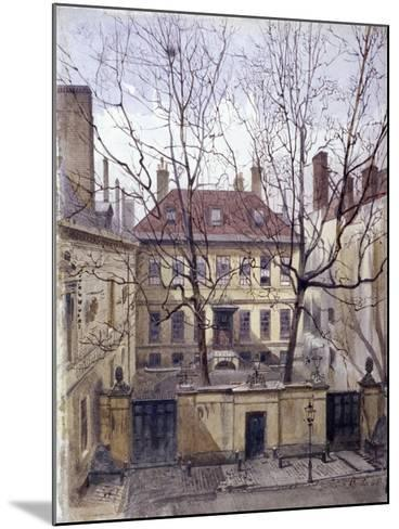 Dean's Court, Carter Lane, 1881-John Crowther-Mounted Giclee Print