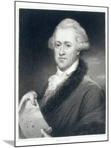Sir William Herschel, Astronomer, 1790S-John Russell-Mounted Giclee Print
