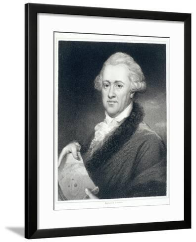 Sir William Herschel, Astronomer, 1790S-John Russell-Framed Art Print