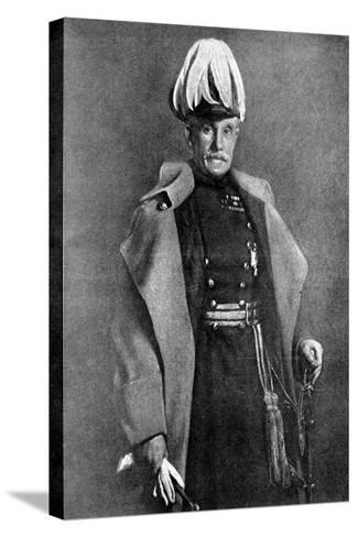 General Sir Horace Lockwood Smith-Dorrien, British Soldier, First World War, 1914-John Saint-Helier Lander-Stretched Canvas Print