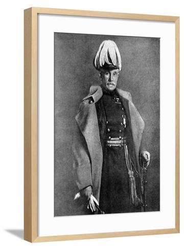 General Sir Horace Lockwood Smith-Dorrien, British Soldier, First World War, 1914-John Saint-Helier Lander-Framed Art Print