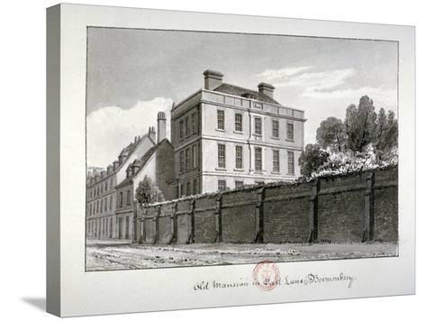 East Lane, Bermondsey, London, 1826-John Chessell Buckler-Stretched Canvas Print