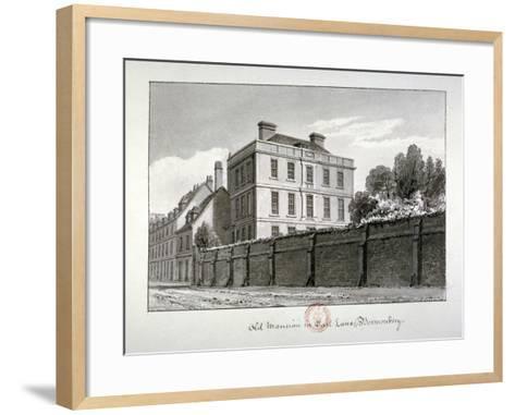 East Lane, Bermondsey, London, 1826-John Chessell Buckler-Framed Art Print