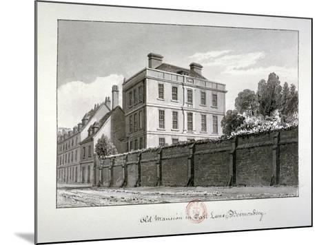 East Lane, Bermondsey, London, 1826-John Chessell Buckler-Mounted Giclee Print