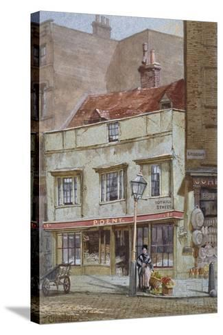No 1 Tothill Street, Westminster, London, C1880-John Crowther-Stretched Canvas Print