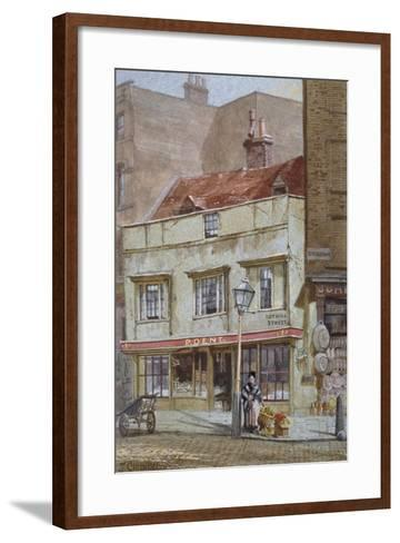No 1 Tothill Street, Westminster, London, C1880-John Crowther-Framed Art Print