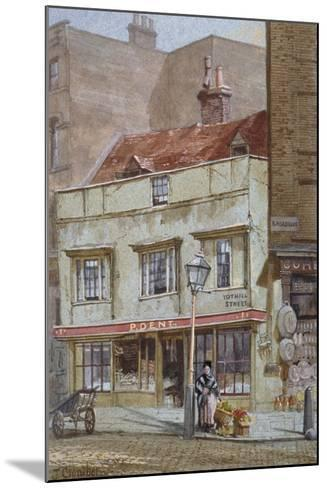 No 1 Tothill Street, Westminster, London, C1880-John Crowther-Mounted Giclee Print