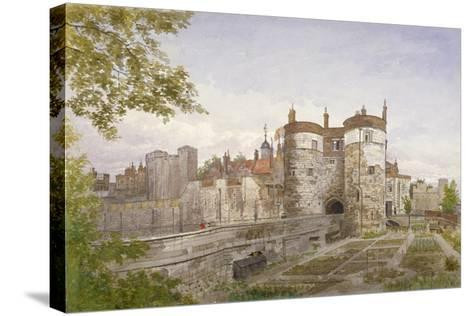 Tower of London, Stepney, London, 1883-John Crowther-Stretched Canvas Print