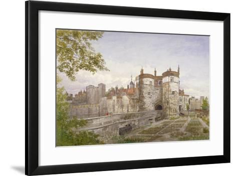 Tower of London, Stepney, London, 1883-John Crowther-Framed Art Print
