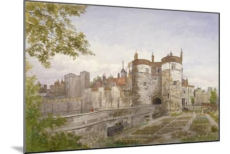 Tower of London, Stepney, London, 1883-John Crowther-Mounted Giclee Print
