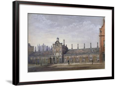 Emery Hill's Almshouses, Rochester Row, Westminster, London, 1880-John Crowther-Framed Art Print