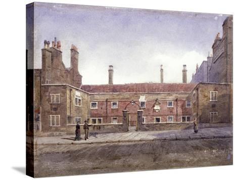 Stafford Alms Houses, Gray's Inn Road, London, 1882-John Crowther-Stretched Canvas Print
