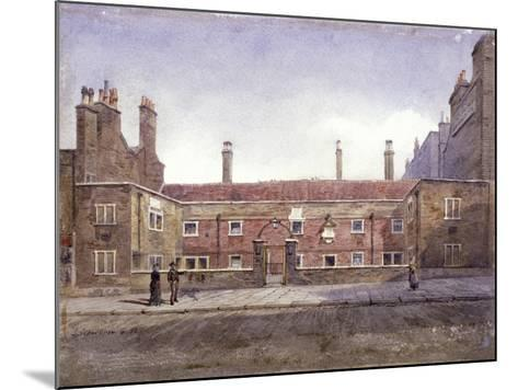 Stafford Alms Houses, Gray's Inn Road, London, 1882-John Crowther-Mounted Giclee Print