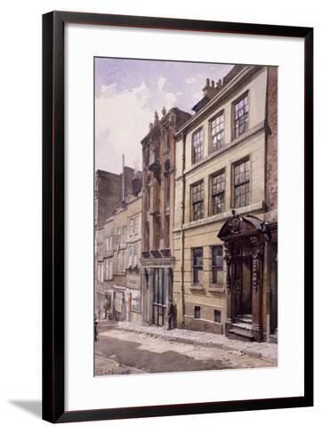 Painter-Stainers' Hall, Little Trinity Lane, London, 1888-John Crowther-Framed Art Print